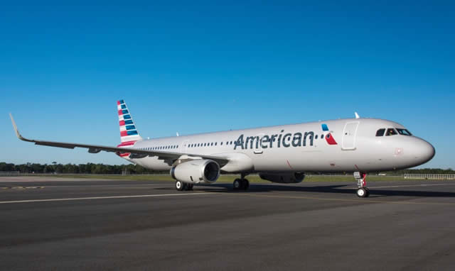 American Air Lines A321 built in Mobile, Alabama