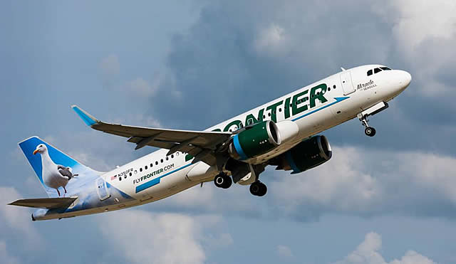 Frontier Airlines Airbus A320, Registration N350FR