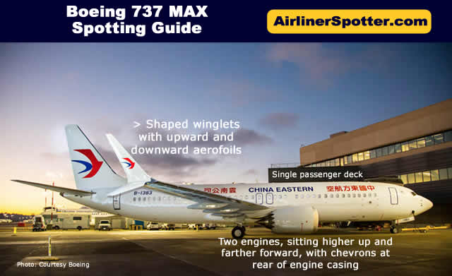 Boeing 737-MAX Spotting Guide