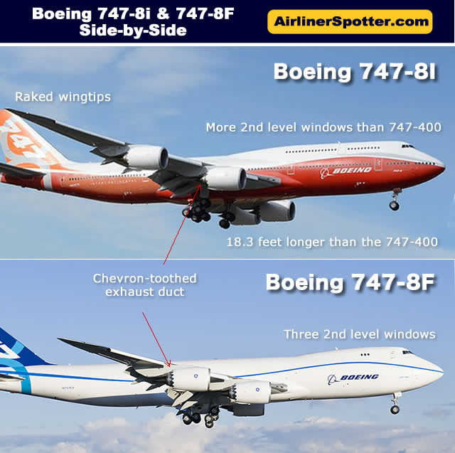 boeing 747 spotting guide 747 identification tips for airplane rh airlinerspotter com Boeing 787 Boeing 797