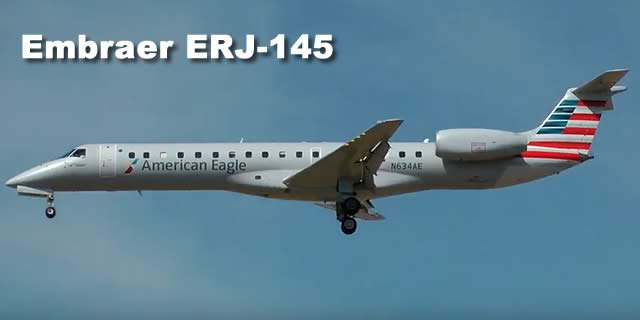 Embraer ERJ-145 Spotting Guide