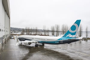 Boeing 737 MAX 9 Rollout