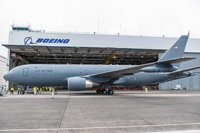 USAF KC-46A at the Boeing plant in Seattle