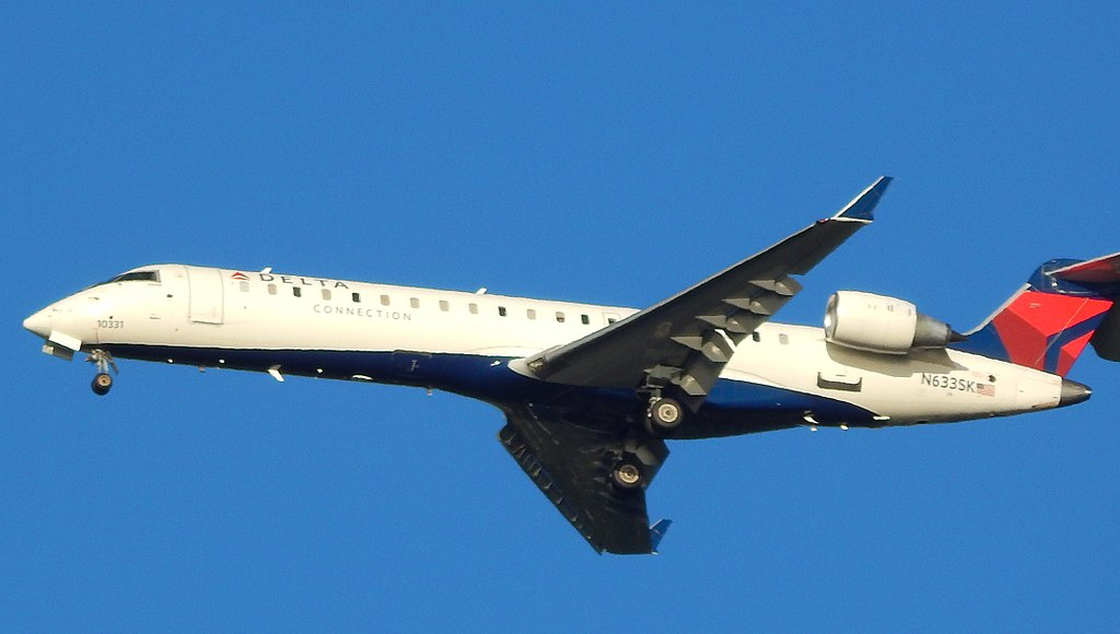 Bombardier CRJ-702 of Delta Connection