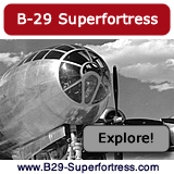 Design, development, specifications, and photographs of the Boeing Superfortress