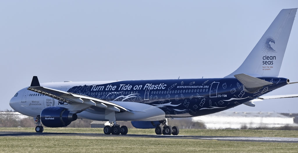 A330-200 CS-TQW - Clean Seas - Turn the Tide on Plastic