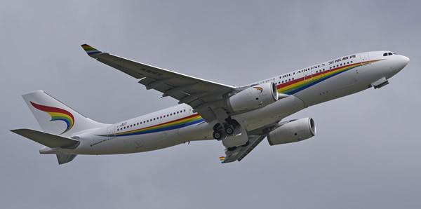 A330-200 of Tibet Airways, msn 1859