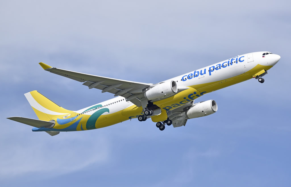 Airbus A330-300 of Cebu Pacific, msn 1789