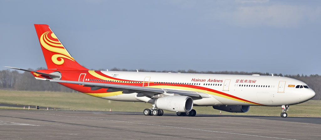 Hainan Airlines A330-300, msn 1855