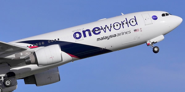 Malaysia Airlines A330-300 - One World