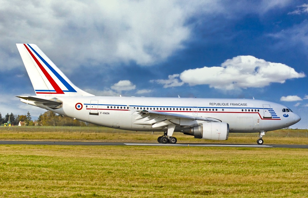 Airbus A310-304, F-RADA, of the French Air Force