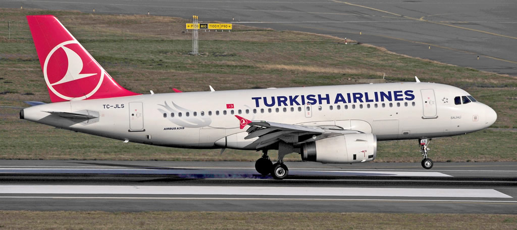 Turkish Airlines Airbus A319, Registration TC-JLS