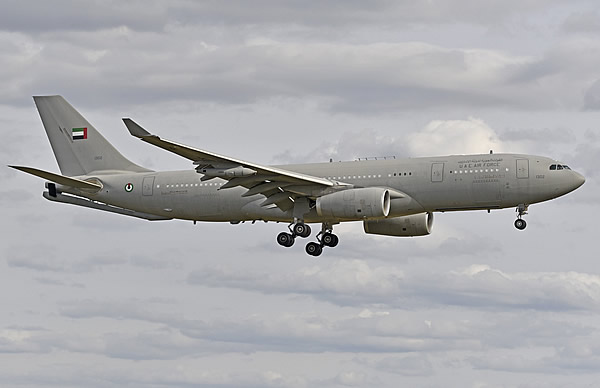 Airbus 330 MRTT of the UAE Air Force, No. 1302