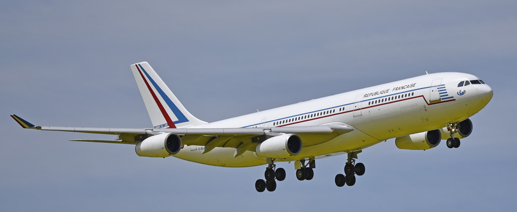 Airbus A340 F-RAJB of the French Air Force
