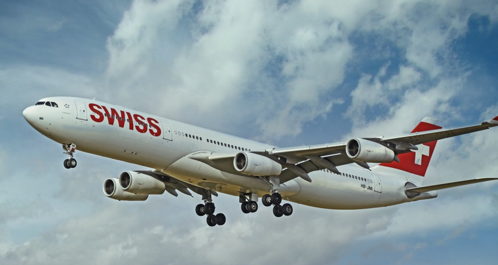 Airbus A340 of Swiss Air, Registration HB-JMI