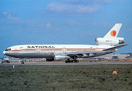 McDonnell-Douglas DC-10 of National Airlines