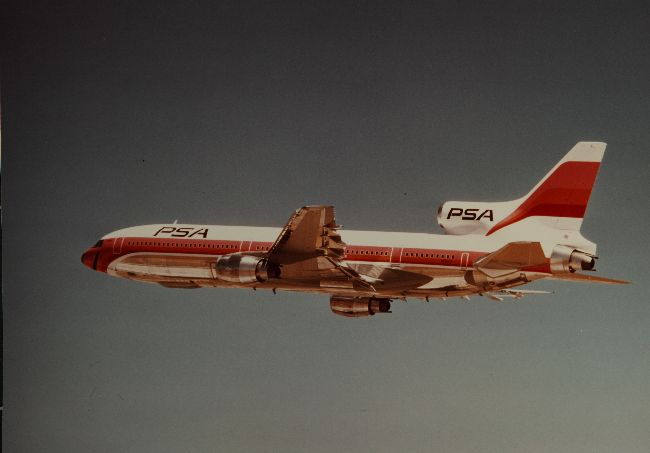 Lockheed L-1011 Tristar of Pacific Southwest Airlines (PSA)