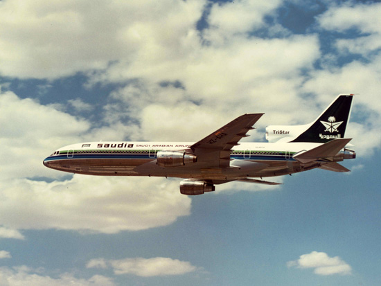 Lockheed L-1011 Tristar of Saudia Arabian Airlines
