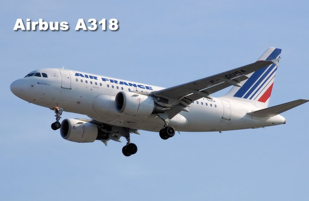 Airbus A318 of Air France