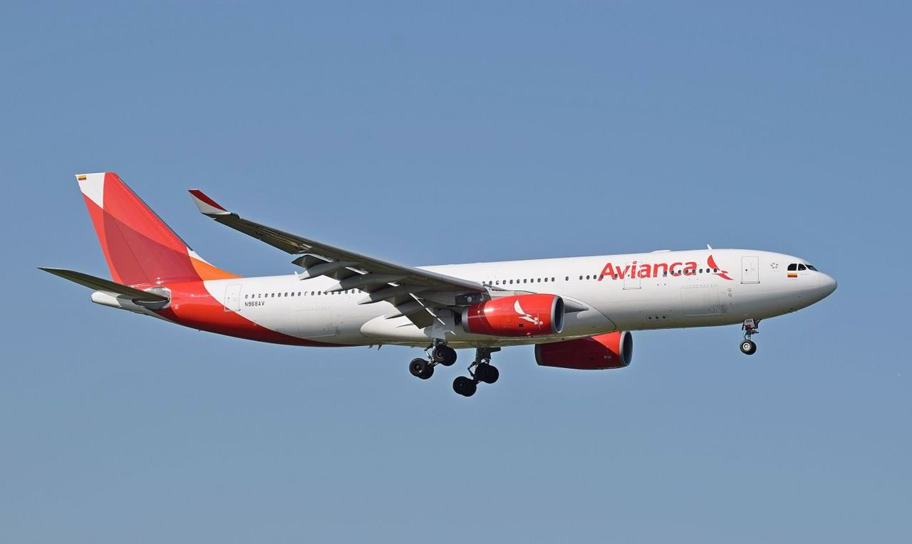 Airbus A330-200 of Avianca Airlines