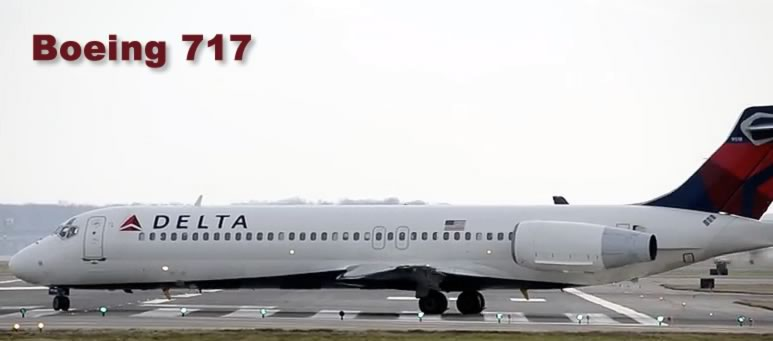 Boeing 717 of Delta Air Lines