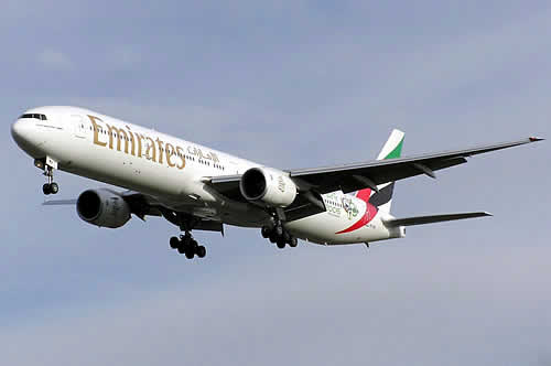 Emirates Boeing 777-31H, Registration Number A6-EMV