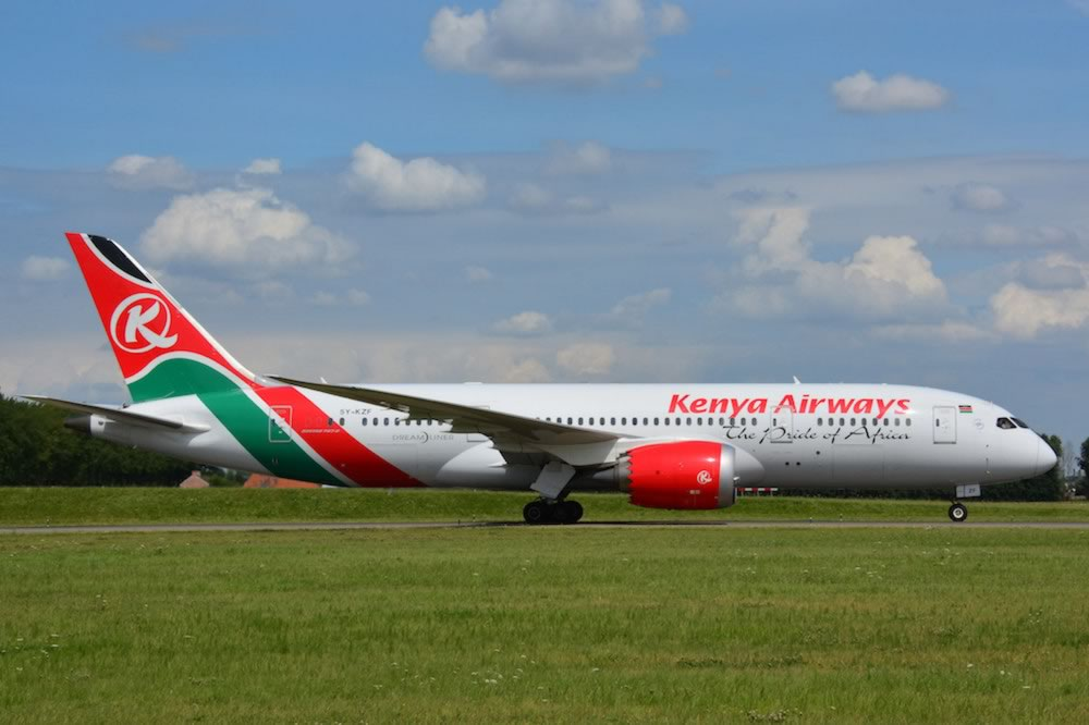 Kenya Airways Boeing 787-8