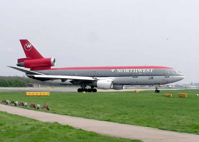 Northwest Air Lines Douglas DC-10